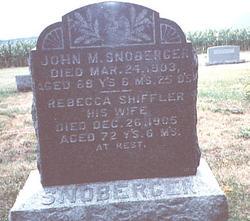 John Morgan Snoberger