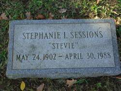 Stephanie I <I>Baron</I> Sessions