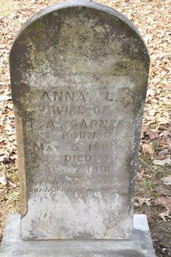"Anna Louise ""Annie"" <I>Lawson</I> Garner"