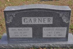 Avis N. <I>Wagstaff</I> Garner