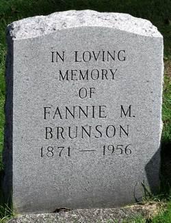 Fannie M. Brunson