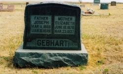 Mrs Elisabeth <I>Berkbigler</I> Gebhart
