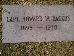 Howard Wesley Backus