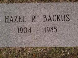 Hazel Rosalie Backus