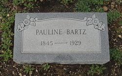 Pauline <I>Reich</I> Bartz