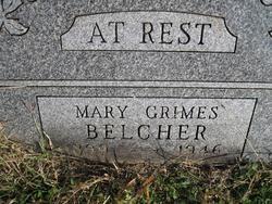 Mary Alta <I>Grimes</I> Belcher