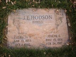 Joseph Ephriam Hodson, Sr