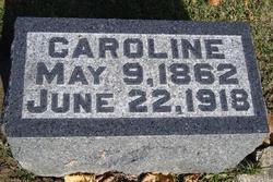 "Caroline ""Carrie"" <I>Lanzer</I> Mattern"
