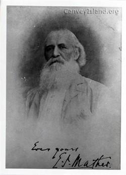 """Ebenezer Joseph """"The Fisherman's Friend"""" Mather"""