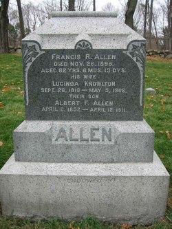 Lucinda <I>Knowlton</I> Allen