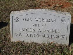 Oma <I>Workman</I> Barnes