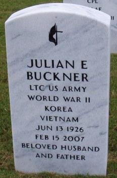 LTC Julian E Buckner