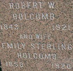 Emily <I>Sterling</I> Holcomb
