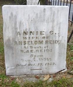 Annie C. <I>Reid</I> Reid