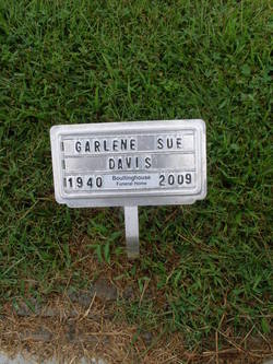 Garlene Sue <I>Richard</I> Davis