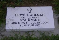 Lloyd Lawrence Ahlman
