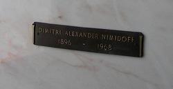 Demitri Alexander Nimidoff