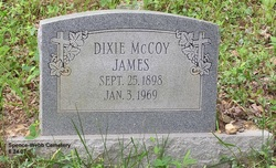 Dixie <I>McCoy</I> James