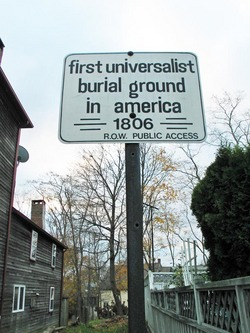 Universalist Burial Ground