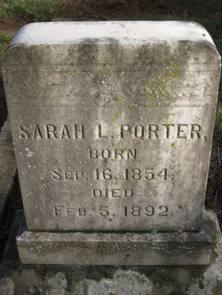 Sarah Louise Porter