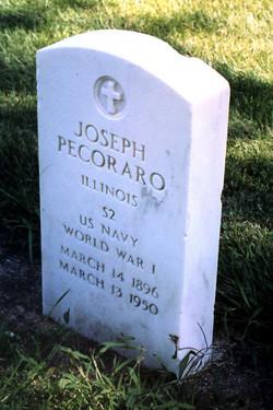 """Joseph Edward """"Joe Pecaro"""" Pecoraro, Sr"""
