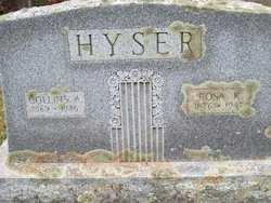 Rosa K <I>Dolan</I> Hyser
