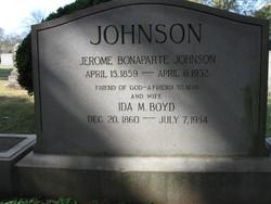 Jerome Bonaparte Johnson