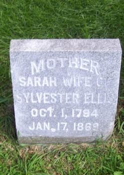 Sarah <I>Hoyt</I> Ellis