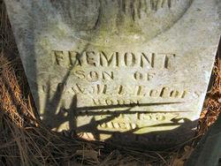 """Fremont """"Monte"""" LeFors"""