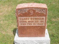 Clare Bowman