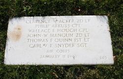 "2LT Clarence Ward ""Buck"" Acker"