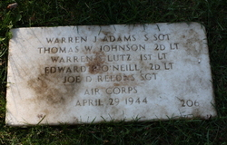 SSGT Warren J Adams