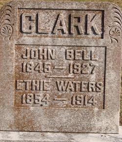 Ethie <I>Waters</I> Clark
