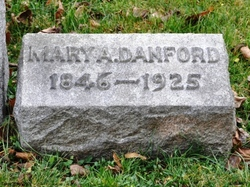 Mary M <I>Adams</I> Danford