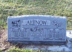 """Joseph W. """"Joe"""" Altnow"""
