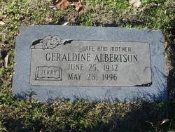 "Geraldine ""Jerry"" <I>Smith</I> Albertson"