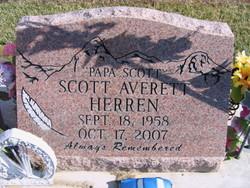 """Scott Averett """"Feather"""" Herren"""