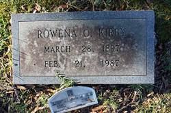 Florence Rowena <I>Odom</I> Kirby
