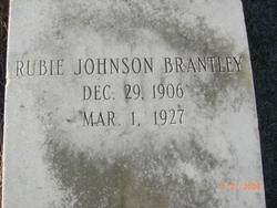 Rubie <I>Johnson</I> Brantley