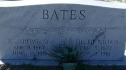 Tiller <I>Brown</I> Bates