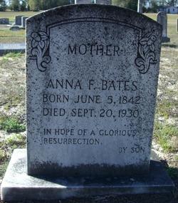 Anna F <I>Young</I> Bates