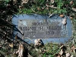 Minnie H <I>Rexer</I> Allen
