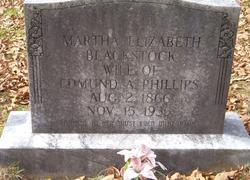 Martha Elizabeth Blackstock