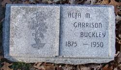Alta M. <I>Garrison</I> Buckley