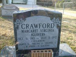 Margaret Virginia <I>Glover</I> Crawford