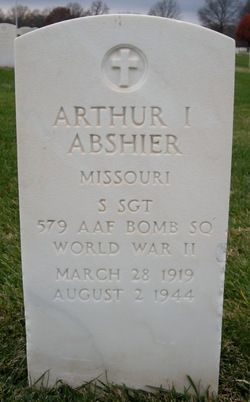 SSGT Arthur Lloyd Abshier