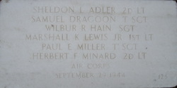 2LT Sheldon L. Adler