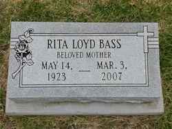 "Rita Melvina ""Wee"" <I>Loyd</I> Bass"