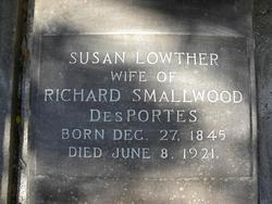 Susan <I>Lowther</I> DesPortes