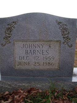 Johnny K Barnes